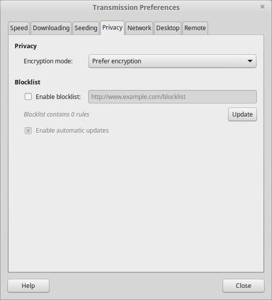 transmission daemon port forwarding enabled